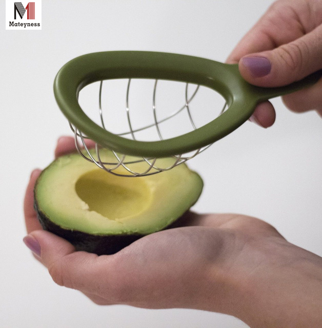 Avocado Scoop Slicer Tools Avocado Cuber