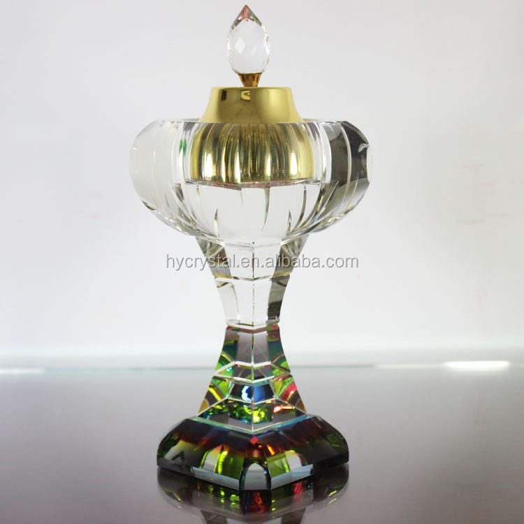 Pujiang personalized crystal K9 incense burner