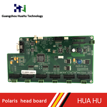 6 heads Printer board for Gongzheng machine GZ3312P printer use Spectra Polaris head,printer spare parts supplier in China