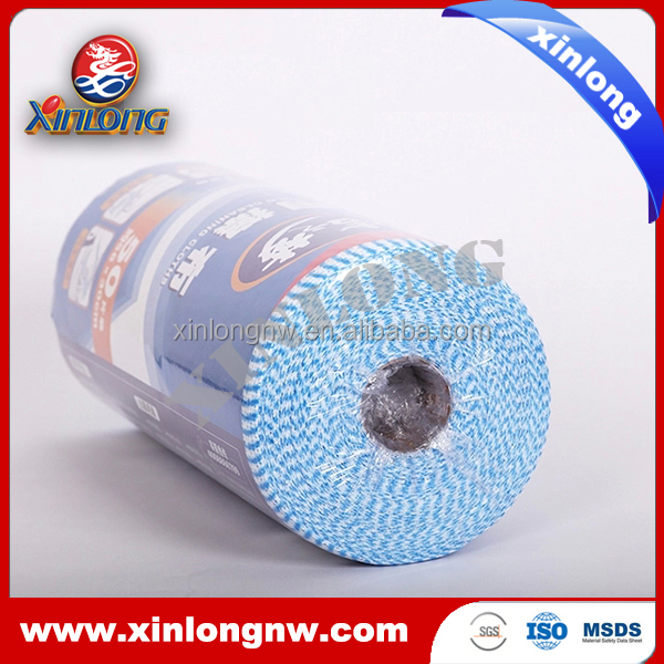 1000 pcs huge value spunlace nonwoven cleaning cloth with perforate