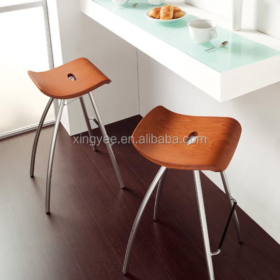 Modern bar furniture home goods brushed stainless steel bar stools  wholesale bentwood stool kitchen counter backless. Modern Bar Furniture Home Goods Brushed Stainless Steel Bar Stools