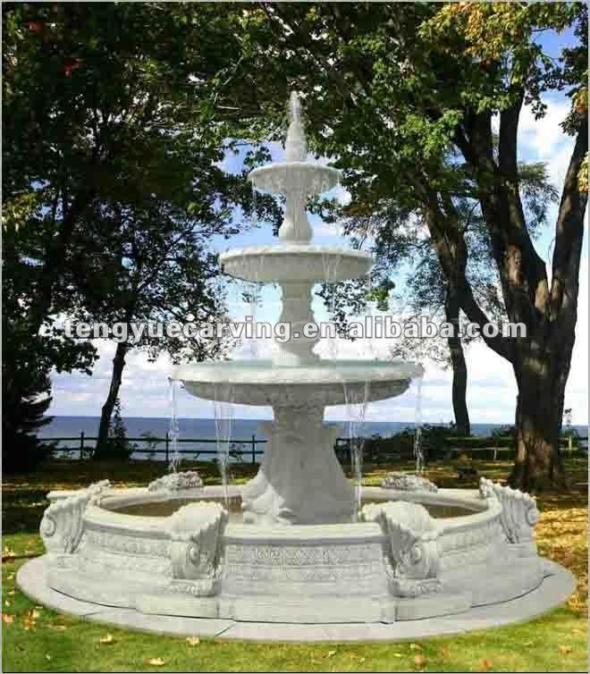 Fuente De Agua Para Jardin Cmo Instalar Una Fuente De Agua En El - Diseo-de-fuentes-de-agua