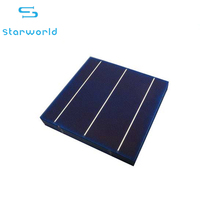 Great quality silicon solar cell 156*156mm micro solar cell 3bb poly cell with CE ROHS certification