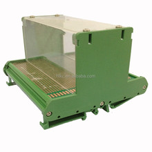small clear cover case housing for DIY PCB design junction box electronics enclosures