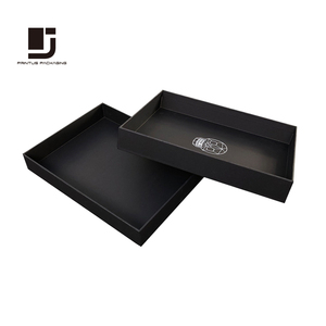 Factory custom luxury paper shirt packaging box design templates
