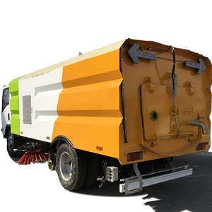 Dongfeng Sinotruk Shacman Cleaning sweeper truck 6 wheels 8x4 6x4 street sweeper truck for sale