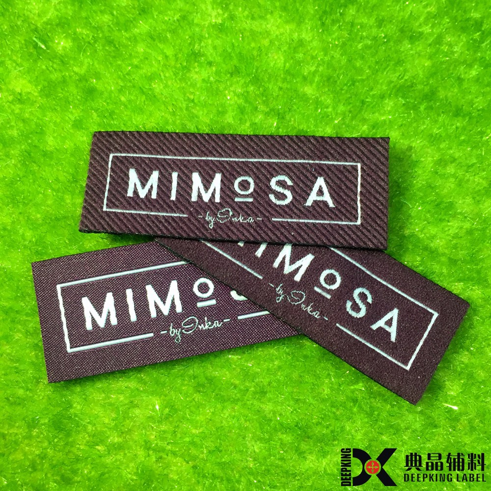 wholesale woven clothing labels woven tags custom