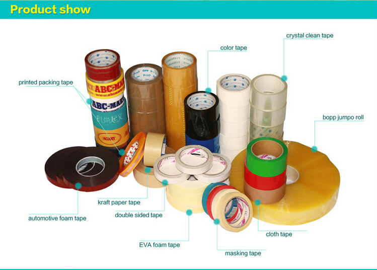 client request Adhesive Tape Bopp Jumbo Roll