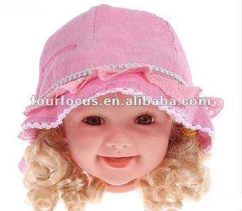 355249fc28a New Baby Summer Woven Hat baby Sunhat