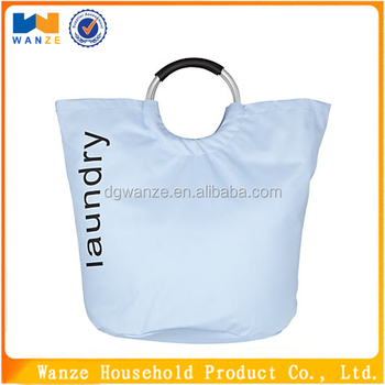 high quality canvas laundry bag with handles