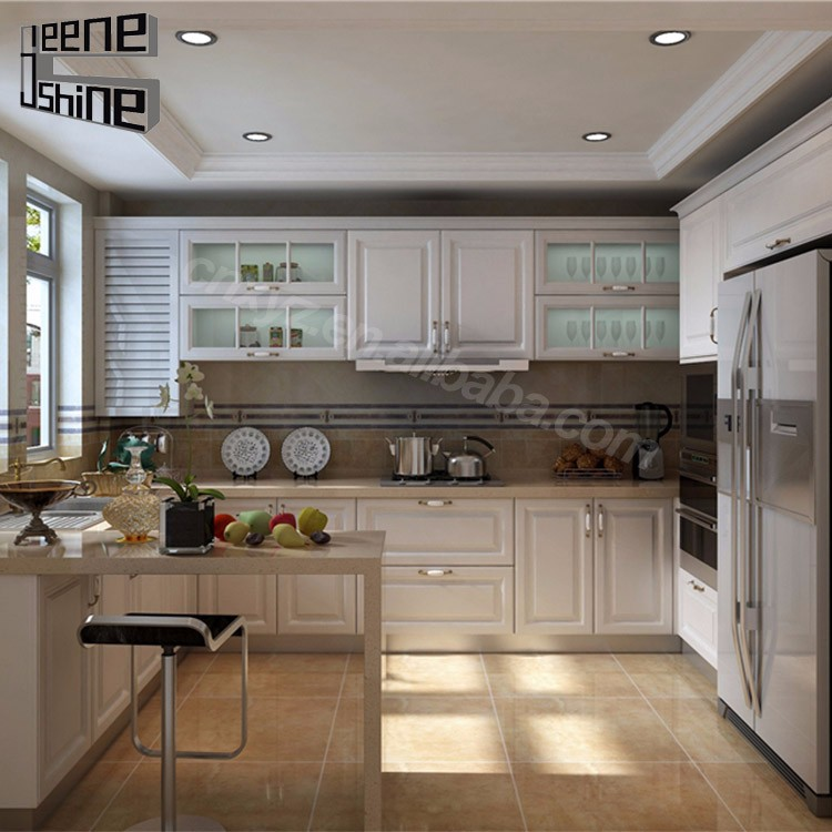Hot Sale Classical Wood Pre Assembled Kitchen Cabinets Dubai Buy Kitchen Cabinets Dubai Wood