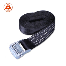 "1.5"" 35mm 800kg Black Cam Buckle Tie Down Lashing Straps"