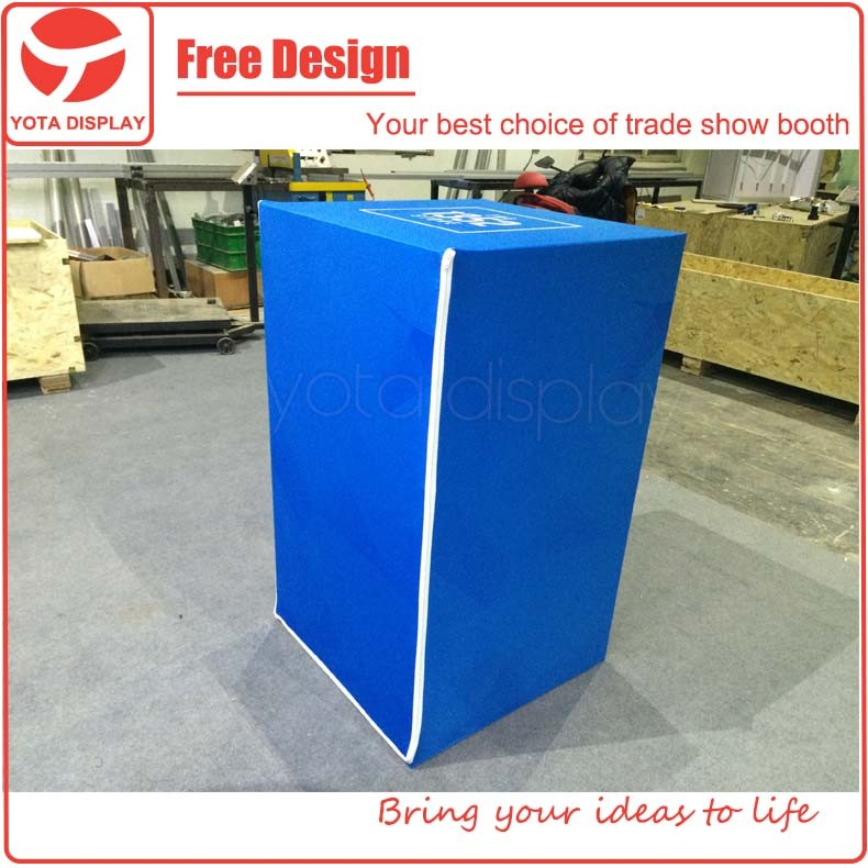 Exhibition Stand Tension Fabric : Yota offer reception desk counter for exhibition stand