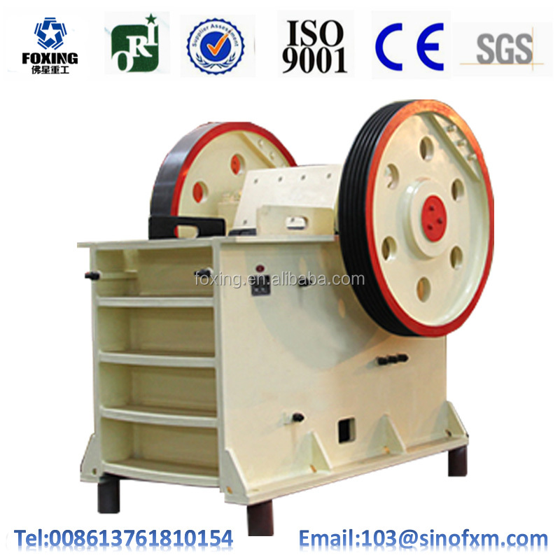 Large Capacity PE/PEX/CJ Series Jaw Crusher for Stone Limestone Concrete Granite Crusher