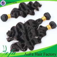 6A remy italian body wave weave in hair