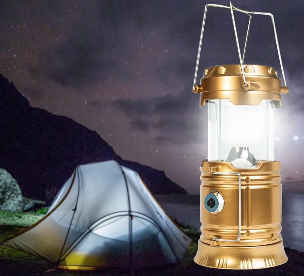 Factory OEM outdoor waterproof rechargeable super bright hand crank solar led lantern with charger