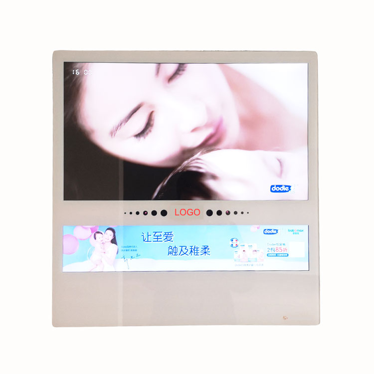 Hot sale customized friction resistant screen tv lcd glass for advertisement