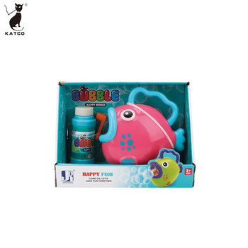 Kids Toy Animals Shaped Bubble Gun Type and Plastic Material Bubble Machine.