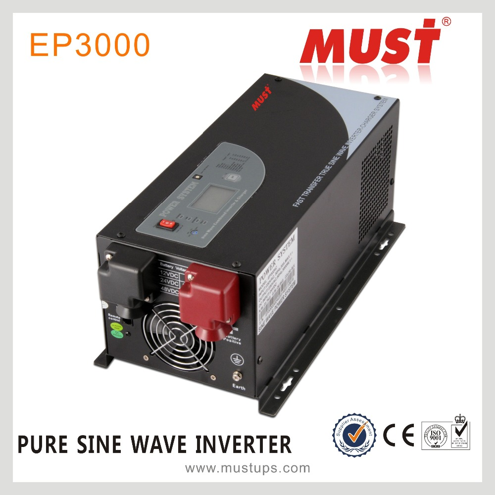 Off grid sine wave 3kw 4kw 5kw 6kw 240v 48v dc ac pure power inverter with charger