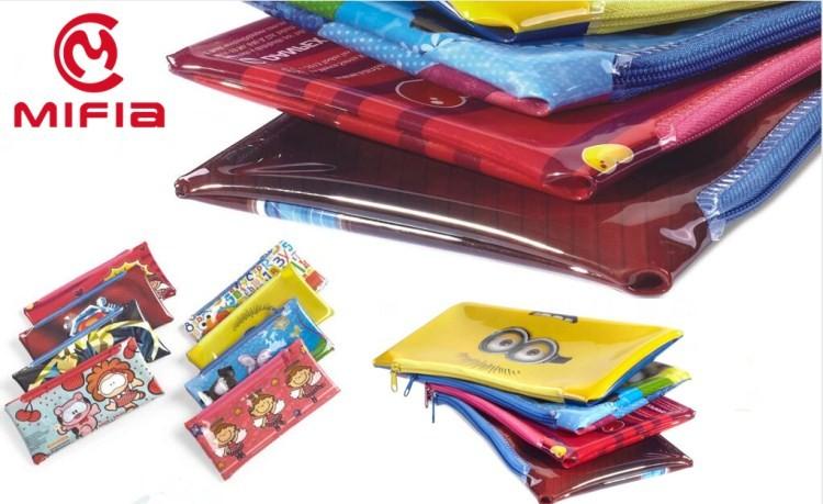 Office School Cheap Custom Printed Pencil Packaging Bag,Printing ...