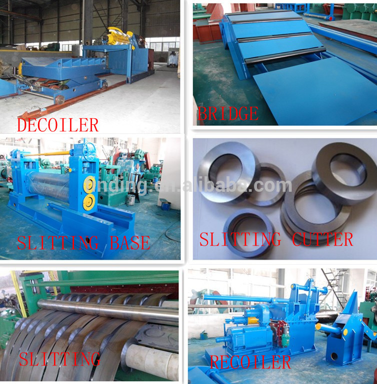 China Hangzhou Steel Coil Cross Cut Line Cut Steel Coil To Sheets ...
