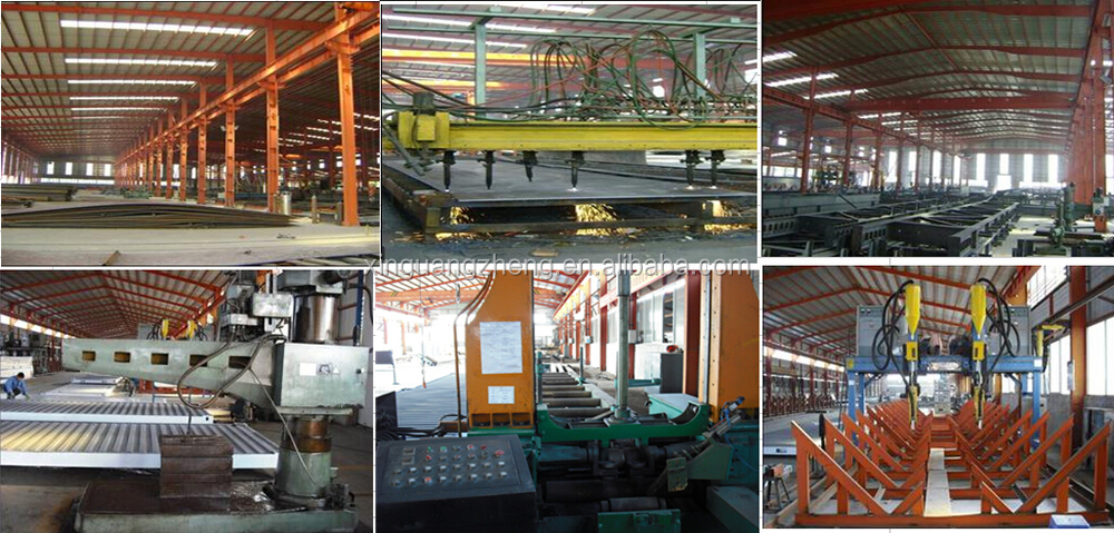 fabricated steel construction materials welded h steel beam