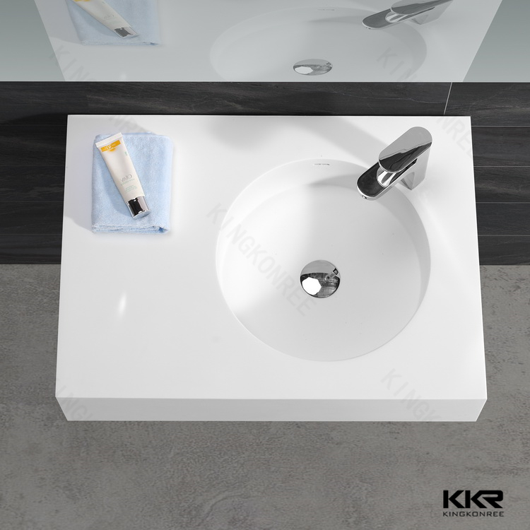 Fast Food Restroom Wash Basin/ Solid Surface Countertop Wash Sinks ...