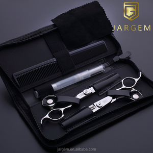 Salon hair scissors 5.5 inch barber scissors set