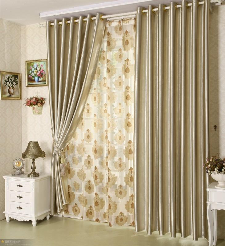Classica casa textle tende stanza vivente poliestere for Tende casa classica