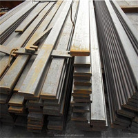 China manufacture First Grade s45c carbon steel flat bars and iron flat bars supplying