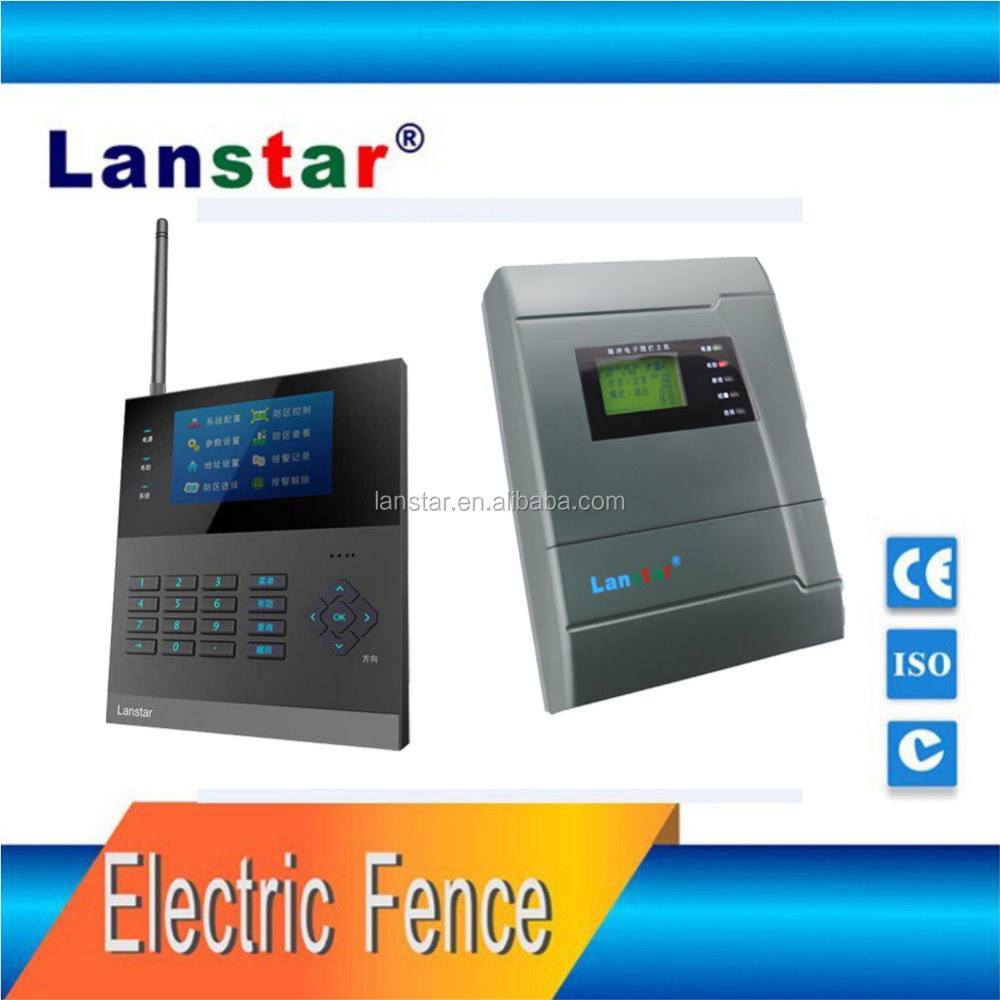 Lanstar Pulse Electric Fence Alarm System With 4 Rows Aluminium Alloy