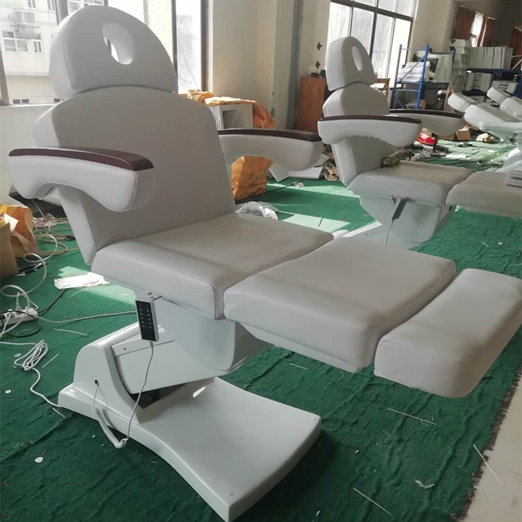 Wholesale electric cosmetic bed thermal massage bed heating facial tables with CE certification