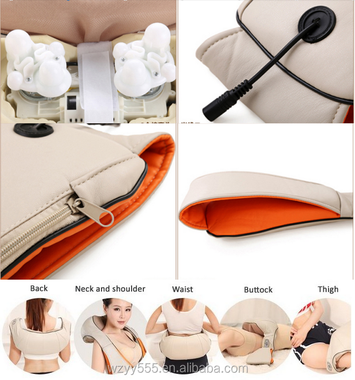 Electric body Back Shiatsu kneading shoulder and neck massager