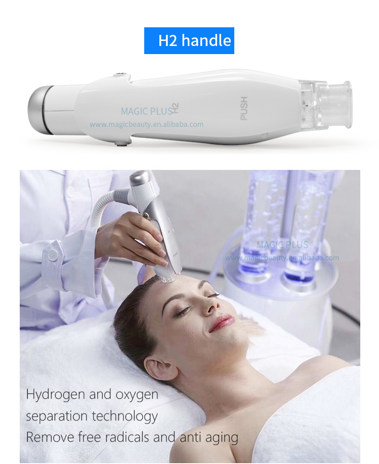 Newest Hydrogen Deep Facial Cleaning Skin Care Anti Aging Hydra Water Aqua Peeling Beauty Equipment