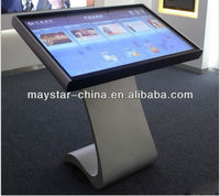 42 inch free standing 3g wifi kiosk lcd with touch panel