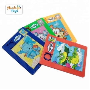 Educational Toy Custom Plastic sliding puzzle For Kids