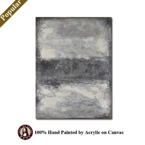 Hand Painted Abstrct Landscape Oil Paintings Fabric Painting Designs