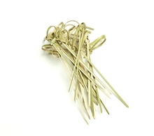 Innovative bamboo products supplies Bamboo knot picks/decorative skewers