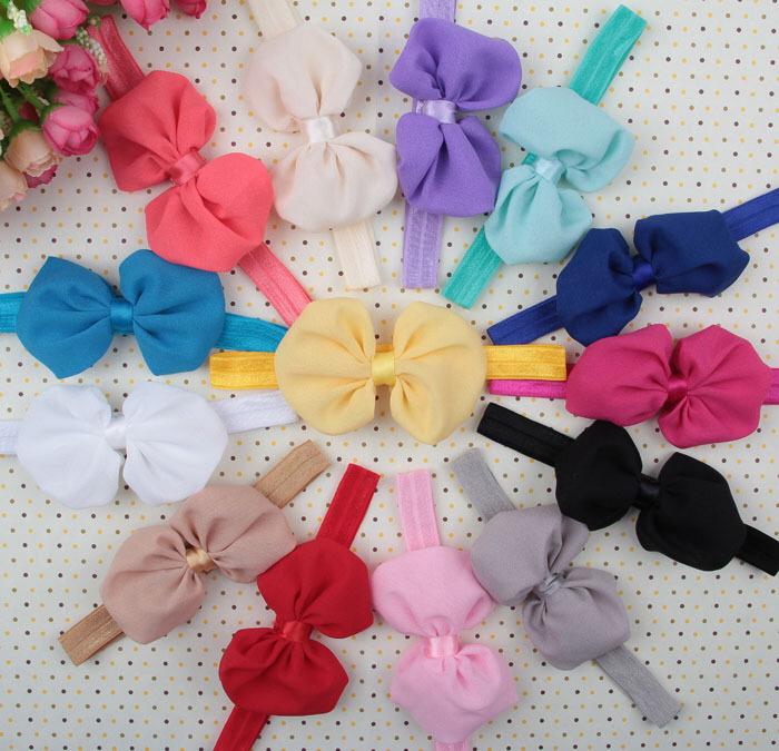 Factory Wholesale Elastic Bow Plain Baby Headbands - Buy Plain Baby ... d6d328b9851