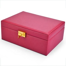 New design Jewelry Box Organizer Display Storage case wood jewelry box for ladies