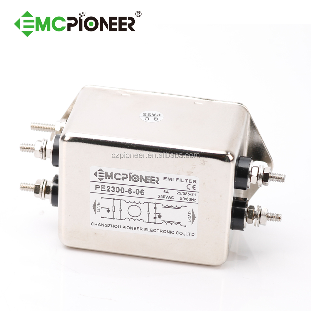 Emc Pioneer Double Stage Rfi Noise Filter For Control Cabinet Circuit View Product Details From Changzhou Electronic Co