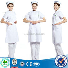 2015 New Style Nurse Uniform/Nurses Uniform Design Pictures/Nurse Hospital Uniform