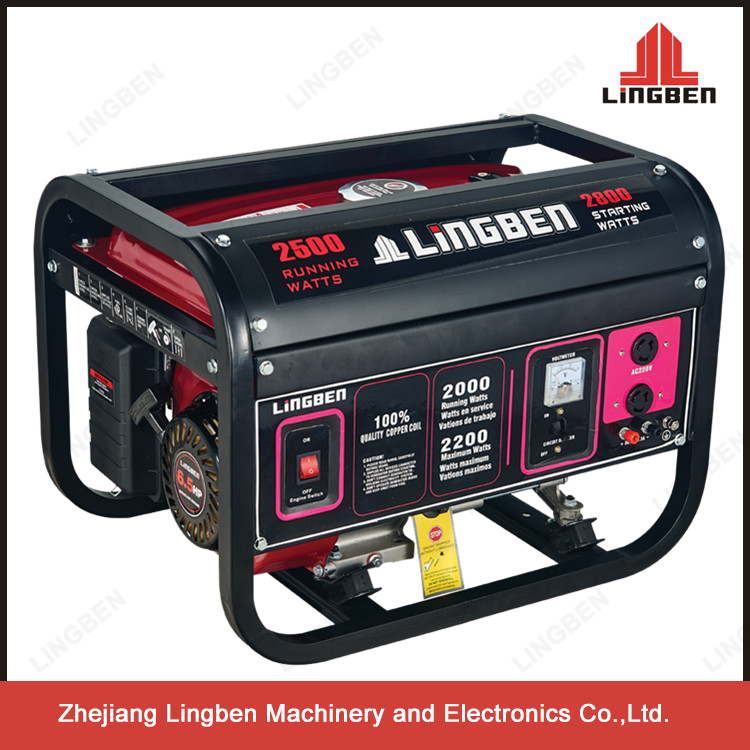 2.5Kw Low Oil Gas Portable Generator Gasoline LB3600-G