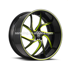 "Private custom20"" modified forged aluminum wheels spoke wire wheels"