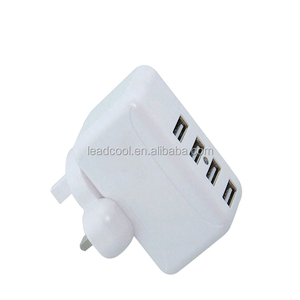 EU US UK AU Plugs Interchangeable Plug Wall Charger (5V6A)