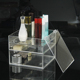 Customized Acrylic Deco Makeup/Cosmetic Organizer Display Box Clear Color