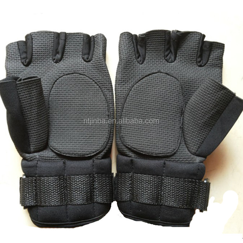 Custom GYM Sport Neoprene Waterproof Gloves Weight Lifting with wrist support for fitness training