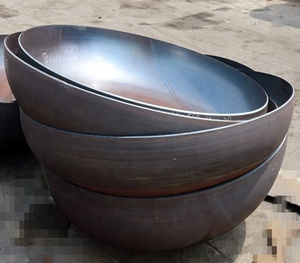 Custom 750mm 900mm dia 6mm thick mild steel sphere fire pit for fire pit bowl