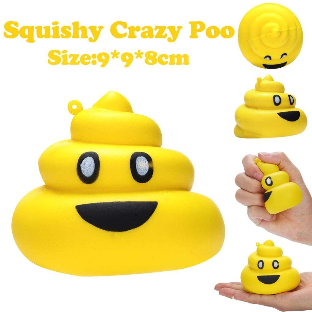 Lavany Squishies Jumbo Poo Toys,Cute Food Squishy Slow Rising Jumbo Squishies Toy Scented Squeeze Toy for Adult Party (A)