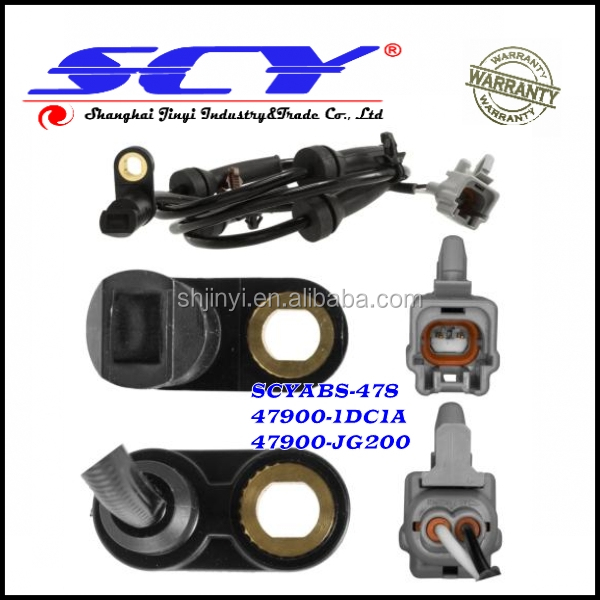 OE# 47900-1DC1A ABS Wheel Speed Sensor Rear Left Right Fits Nissan Rogue X-Trail